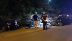 Cursă cu poliția pe urme, la Timișoara și cinci mașini accidentate