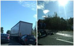 Accident în lanţ la Zimandu Nou! Cinci autoturisme  implicate şi trei victime!