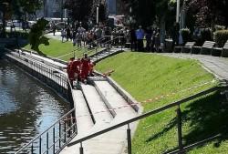 UPDATE: Bărbatul a fost declarat decedat | O persoană s-a înecat în lacul de la Podgoria