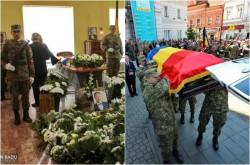 Zsolt Torok a fost înmormântat cu onoruri militare la Cimitirul Eternitatea