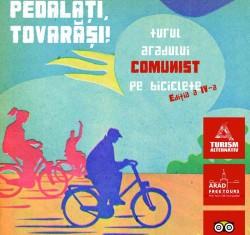 """""""Arad Free Tours pe două roți"""" cu tema celei de a IV-a ediții, Comunismul"""