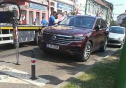 Ama(Bi)zoana Zilei: A blocat circulaţia tramvaielor la oră de vârf în centrul Aradului