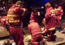 O femeie s-a aruncat în gol de la etajul 4 al unui bloc din zona Micalaca