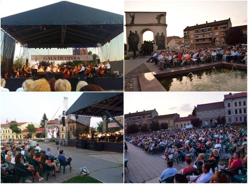Gala de operă Open Air, un eveniment special pentru melomanii arădeni
