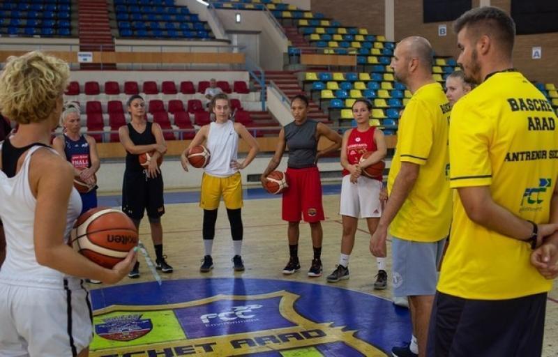 FCC Baschet Arad a început pregătirile pentru noul sezon
