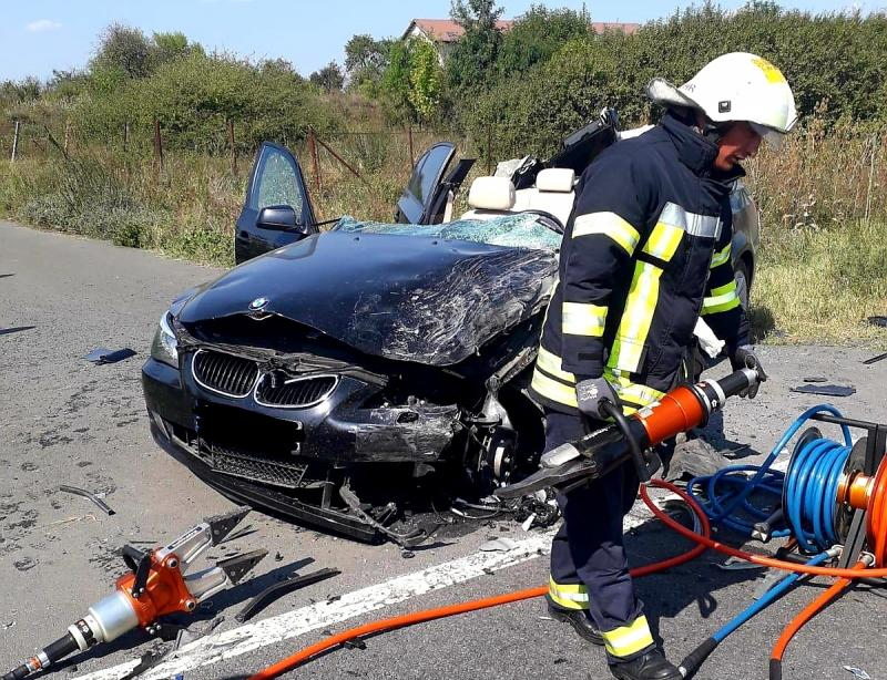 Accident MORTAL între Șimand și Nădab