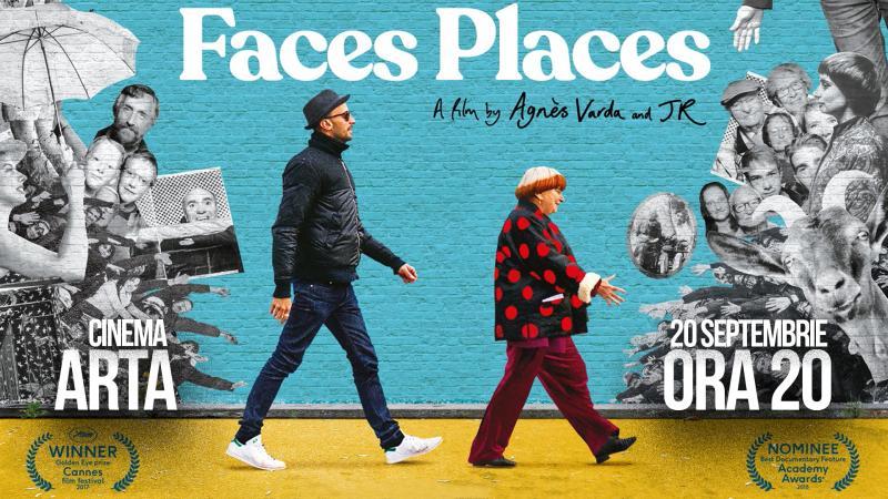 Proiecție omagiu a documentarului de artă și călătorie - Visages, villages/ Chipuri, locuri