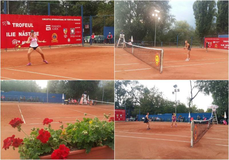 ITF Arad - spectacol pe zgura