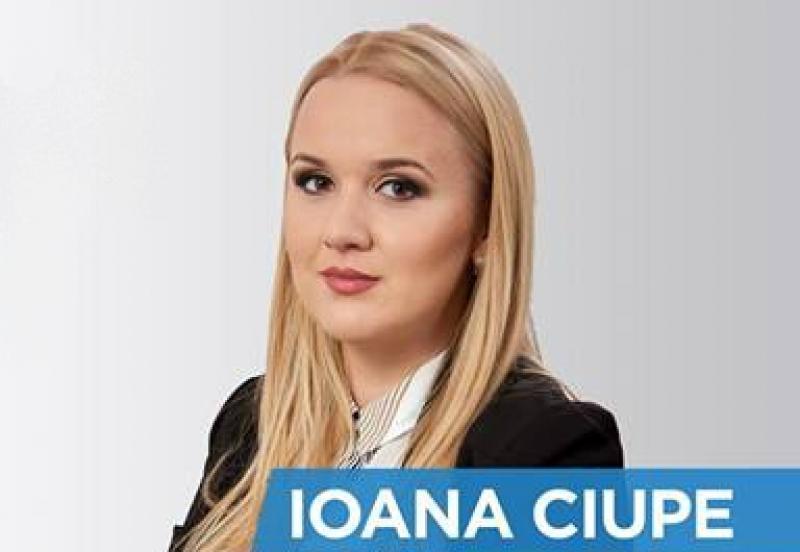 Ioana Ciupe-Gudiu a fost numită secretar de stat