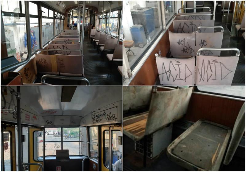 Spuneţi STOP vandalizării mijloacelor de transport în comun!