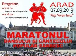 """""""Maratonul dansului și cântecului popular sârbesc"""" la Arad"""