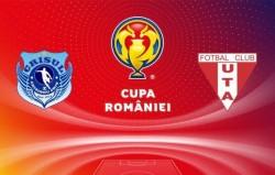 UTA se deplasează la Criș pentru turul IV al Cupei României! Meciul se va disputa, cel mai probabil, marți