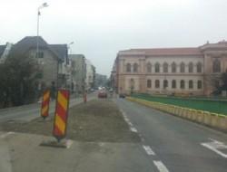 Noi restricții de circulație în municipiu. Podul Decebal intră în lucru