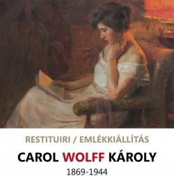 """Expoziția de pictură """"Restituiri. Carol Wolff"""" la Muzeul de Artă"""