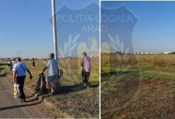 Muncă în folosul comunității pentru cerșetorii și vagabonzii din Arad