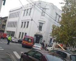 Incendiu în centrul Aradului! Traficul este blocat