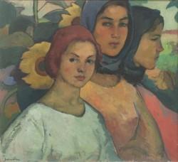 """Exponatul lunii septembrie la Complexul Muzeal Arad - SABIN POPP """"TREI SURORI"""""""