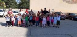 """Micuții de la Grădinița Bambi din Arad au vizitat pompierii, cu ocazia """"Porților Deschise"""""""