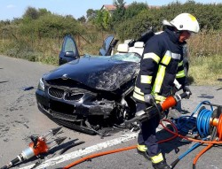 Accident MORTAL între Șimand și Nădab