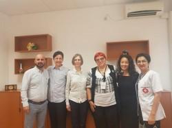 Schimb de experiență între medici din S.U.A. și medici ai Spitalului Clinic Județean de Urgență Arad