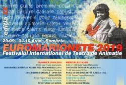 """S-au pus în vânzare biletele pentru cea de-a XX-a ediție a Festivalului Internațional de Teatru de Animație """"Euromarionete"""""""