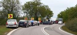 Autobuz ce transporta 20 de persoane implicat într-un accident rutier pe drumul ce leagă Aradul de Timișoara