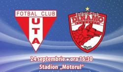 UTA a anunțat prețul biletelor pentru meciul cu Dinamo, din Cupa României!