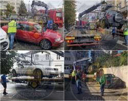 Poliţiştii locali au ridicat nu mai puțin de 15 mașini parcate neregulamentar