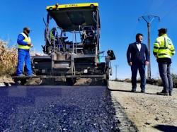 Modernizarea drumului județean Grăniceri – Pilu se finalizează în noiembrie