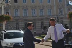 """Gheorghe Falcă : """"Le mulțumesc celor 65.000 de arădeni, susținători ai Președintelui Iohannis!"""""""