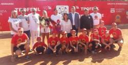 Mitu și-a făcut cadou trofeul de la ITF Arad