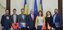 Reprezentanţi din patru ţări din domeniul turismului în vizita la CCIA Arad