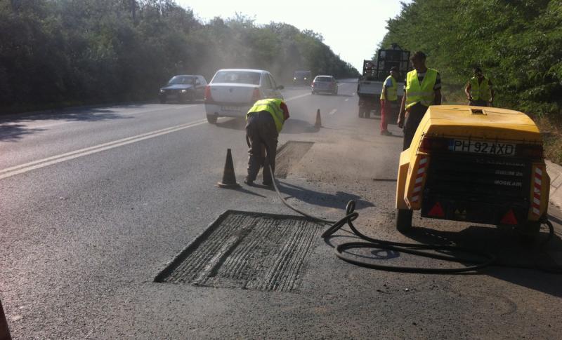 Ce lucrări de reparații și întreținere au fost realizate pe drumurile naționale din județul Arad