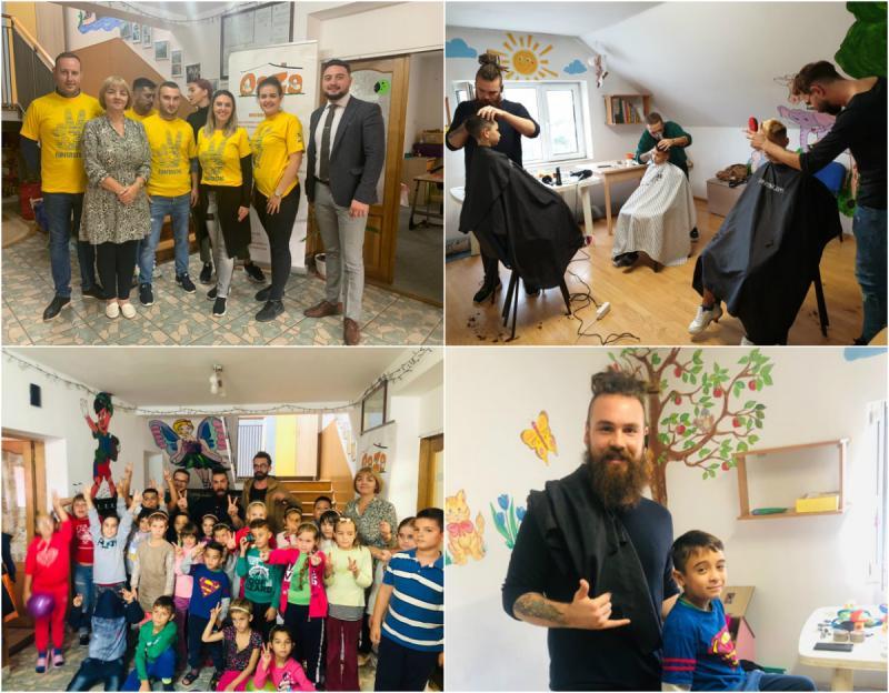 TNL Arad a vizitat Asociația Oaza, bucurând copiii
