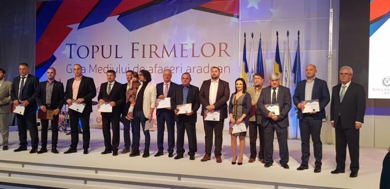 Cei mai buni dintre cei buni au fost premiaţi vineri seara de către Camera de Comerţ şi Industrie Arad