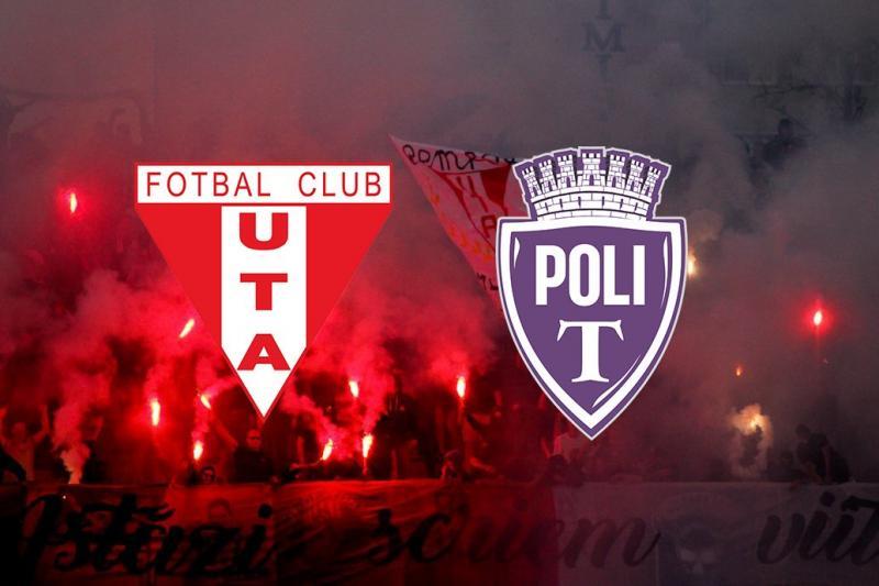 Clubul UTA a anunțat prețurile biletelor pentru meciul cu ASU Poli! Partida va avea loc duminică, de la ora 11:00