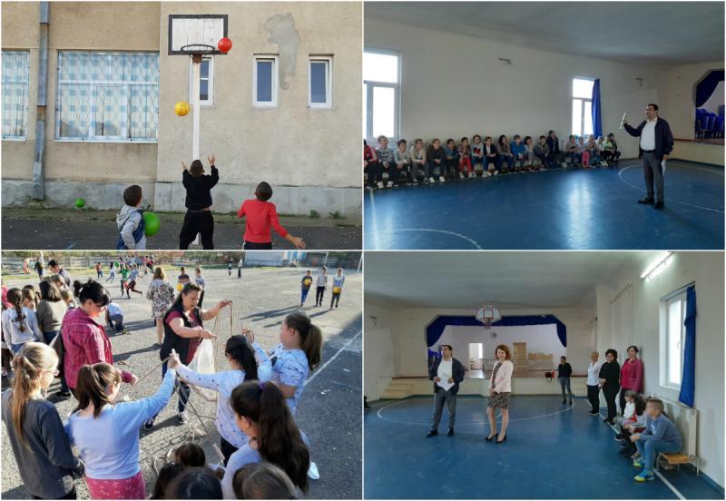 Promovarea unei vieți sănătoase prin mișcare, în rândul elevilor