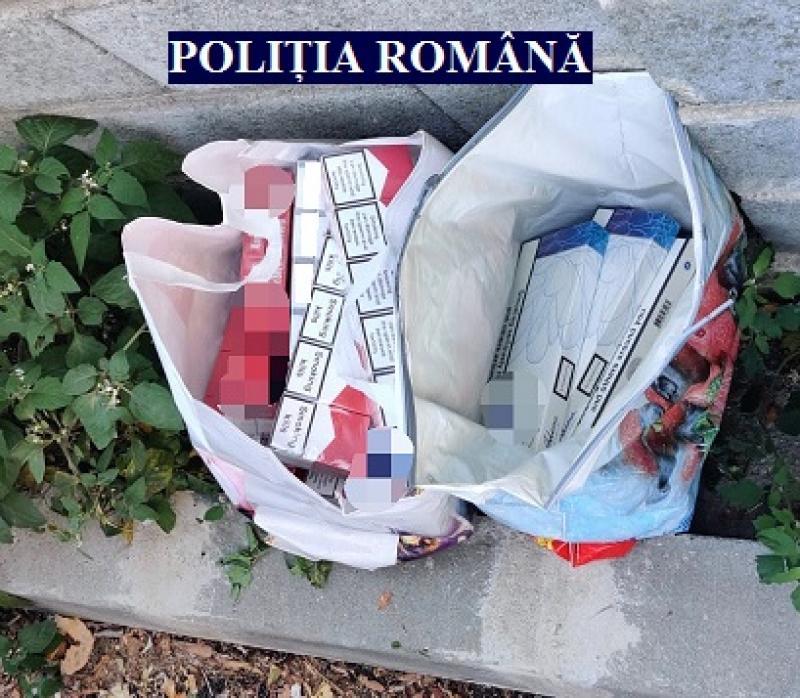 5.600 de țigarete de contrabandă, confiscate înainte de a fi comercializate în Piața Fortuna
