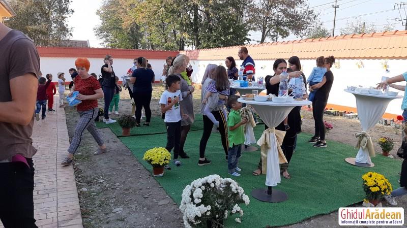 Grădinița Bambi din Arad a organizat Festivalul Toamnei, aflat la a VI-a ediție