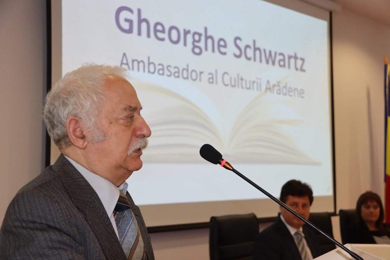 Gheorghe Schwartz, ambasador al culturii arădene!