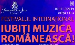 Festivalului Internațional Iubiți Muzica Românească la Filarmonica din Arad