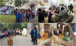 Deschiderea expoziției DINOZAURII – O LUME DISPĂRUTĂ