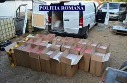Un bărbat din Sânpaul ce era arestat la domiciliu, prins cu țigări de contrabandă