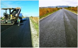 Drumul județean Pâncota-Seleuș este aproape finalizat