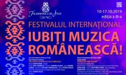 Ediția a III-a a Festivalului Internațional Iubiți Muzica Românească vine la Arad