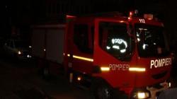 Un magazin de haine a luat foc în centrul Aradului