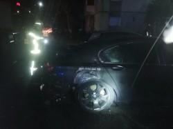 O altă mașină INCENDIATĂ la Arad