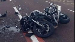 Accident violent în Timiș. Un motociclist a murit în urma impactului