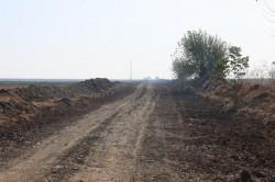 Au început lucrările la drumul Sânpetru-limită județ Timiș