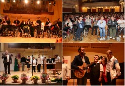 Cea de-a treia ediție a Galei Persoanelor cu Dizabilități organizată de DGASPC Arad a avut loc marți seară la Filarmonica de Stat Arad